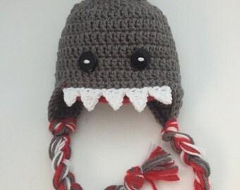 Shark Ear-flap Beanie