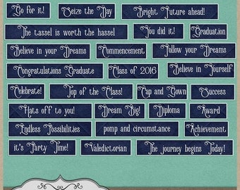 The Journey Begins Word Labels