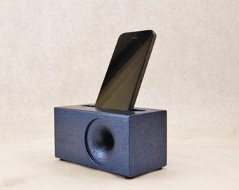 Acoustic iPhone Speaker for iPhone 4, iPhone 5, iPhone 6, Passive iPhone Speaker, Wood iPhone Dock,  iPhone Speaker Dock