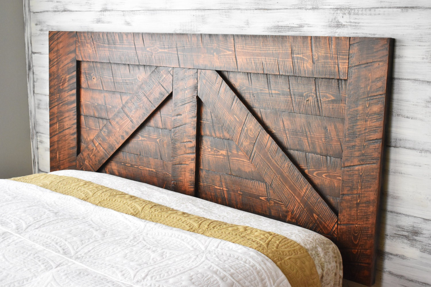 queen headboard wood headboard reclaimed wood headboard