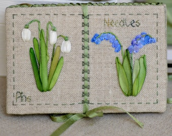 Spring Garden Needle Book
