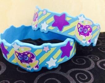 Cosmic Kitten Wristband