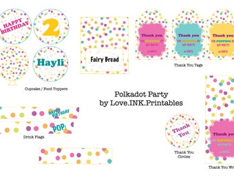 Bubbles & Balls / Polkadot Party