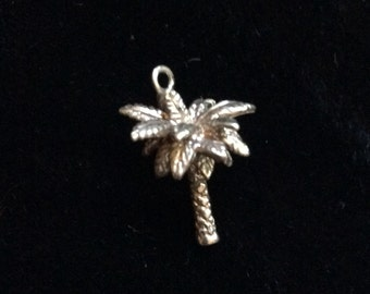 Tiffany Silver Palm Tree Charm