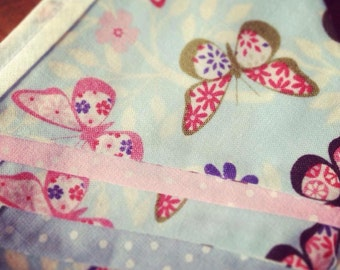 Butterfly and spot bunting