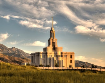 The Payson, Utah LDS Temple (Photograph), Mother's Day