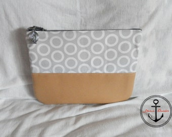 Minimal clutch autumn collection - grey