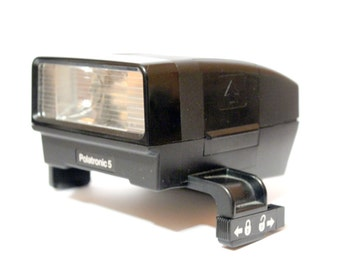 Polatronic 5 flash [for non foldable Polaroid type 1000 - 2000- 3000 - SX70]