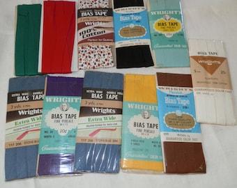 Vintage Wrights Bias Tape ...Lot 102