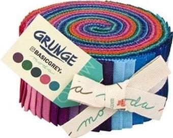 "Moda Jelly Roll ""Grunge"" by Basicgrey"