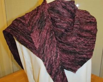 Purple Boomer Wrap, Scarf, Shawl