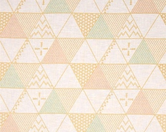 "20% OFF SALE Sale - Fabric Remnant - Trading Post in Sorbet - Brambleberry Ridge - Michael Miller - 7""x42"""