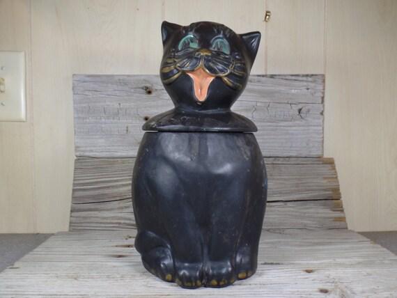 Mccoy Black Cat Cookie Jar