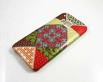 Patchwork iPhone 7 case iPhone 7 Plus iPhone SE iPhone 6 /6s Phone 6 Plus iphone 5s iPhone 5c iPhone 4 iPod classic iPod Touch 5 shell
