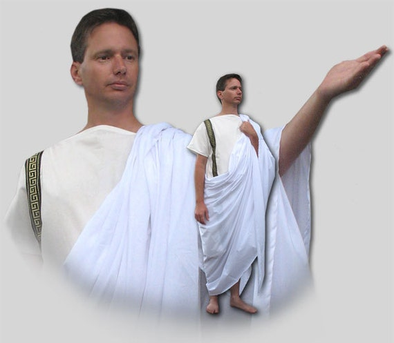 Ancient Roman Greek Toga Costume Many Colors