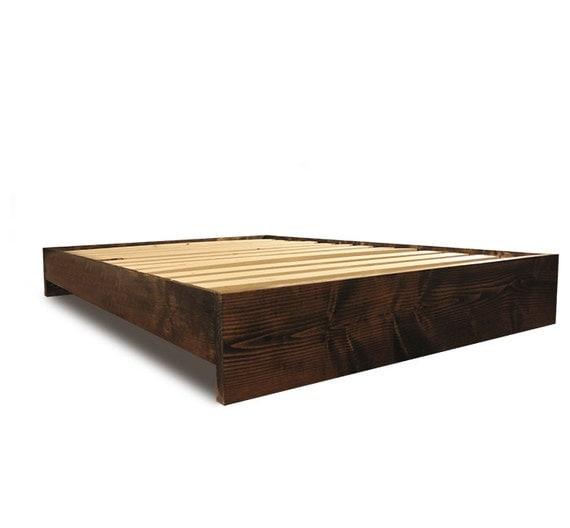 platform bed frame modern and rustic simple platform bed