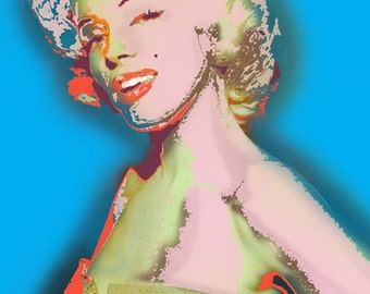 Marilyn Monroe I Just Want to Be Wonderful Giclee