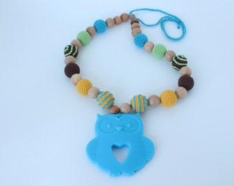 Breastfeeding necklace - Crochet nursing necklace for mom
