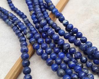 Lapiz  6mm Round Beads-
