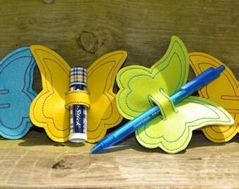 Butterfly Pen/Chapstick Holder