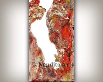 Boho Art, Modern Minimalist Painting, Fine Art Print from Original Art Giclee Wall Art Gift for her Anniversary, Wedding, Office Decor