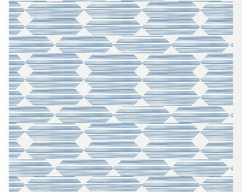 LORE by Leah Duncan for Cloud 9 Fabrics - Anecdote Blue - 100% Organic Cotton (0.25m)