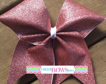 Breast Cancer Awareness bow -- { READY to ship NOW }