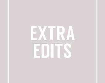Extra Edits