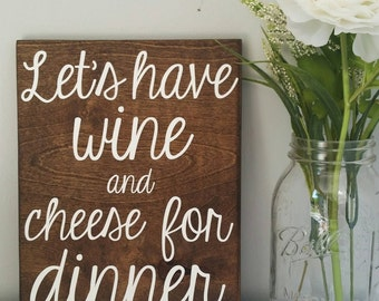 Wine and Cheese, Wooden Wine Signs, Wine Wall Art, Wine Wall Decor, Rustic Wine  Decor, Wine Decorations, Girls Night In, Wine Lovers, Gifts