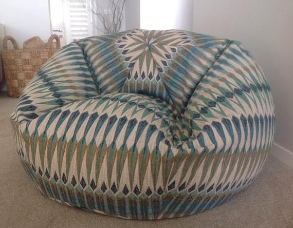 bean bag beanbag acela bean bag cover teal aqua blue. Black Bedroom Furniture Sets. Home Design Ideas
