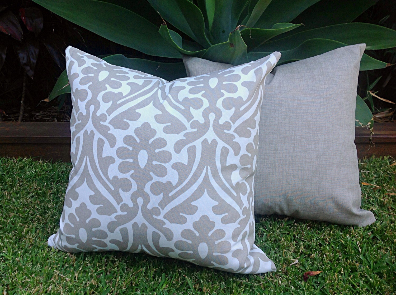 Modern Outdoor Cushions Cover ly Grey Outdoor Pillows