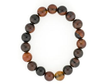 10mm Stretchy Sardonyx, 10mm Round Sardonyx, Elastic Sardonyx Bracelet, Natural Sardonyx Beads, Sardonyx Jewelry, Wholesale