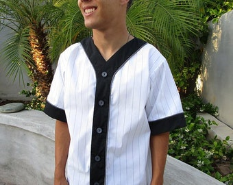 2 Pattern Bundle Old Tyme Baseball Shirt for Tweens and Adults