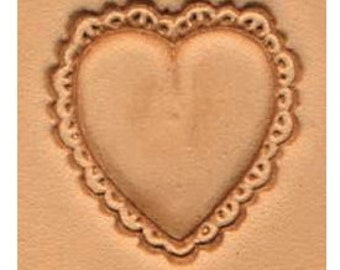 Heart Leather Stamp Tool