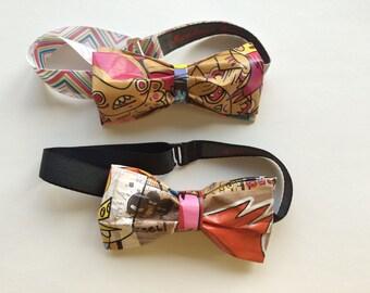Graffiti Bow Tie
