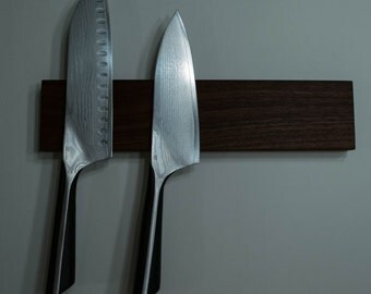 Walnut Magnetic Knife Rack