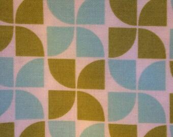 MARMALADE By Bonnie & Camille - Fabric - Pinwheels in Green and Aqua - Moda Fabrics - Quilting - Sewing - Pinwheel - Home Decor