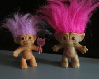 Vintage Troll Dolls 1980  BOX 16