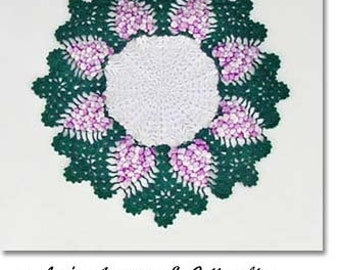 Clusters of Grapes Vintage Doily (Inventory #M2299)