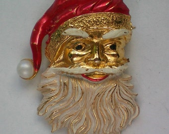 St. Nick or Santa Claus Pin for Christmas Holidays - 4339
