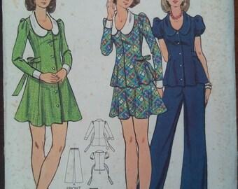 Vintage 1970s Butterick Pattern #3015