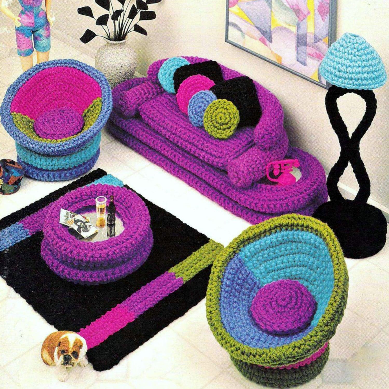 Star Wars Crochet Dolls Free Pattern : Vintage Crochet Pattern PDF Fashion Doll Home Decor Barbie