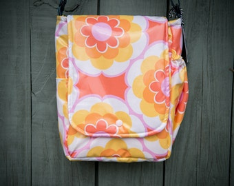 Small Messenger Timeless Treasures Sunny Daze Orange Bag