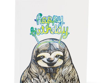 Happy Birthday Sloth