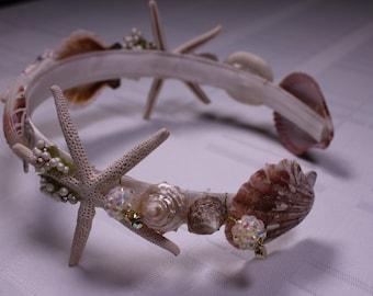 Seashell Headband for Flower Girl