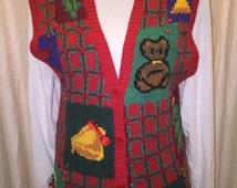 Ugly Christmas vest - it jingles!