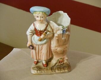 Vintage German Bud Vase Figurine