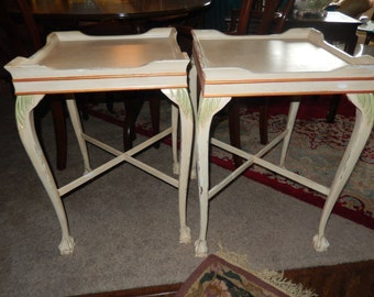 ANTIQUE PAINTED TABLES