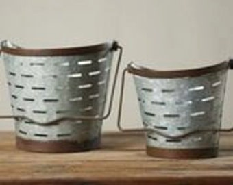 Mini Olive Baskets