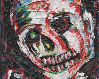 mixed media Zombie Art